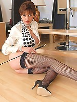 Nylons whip mistress